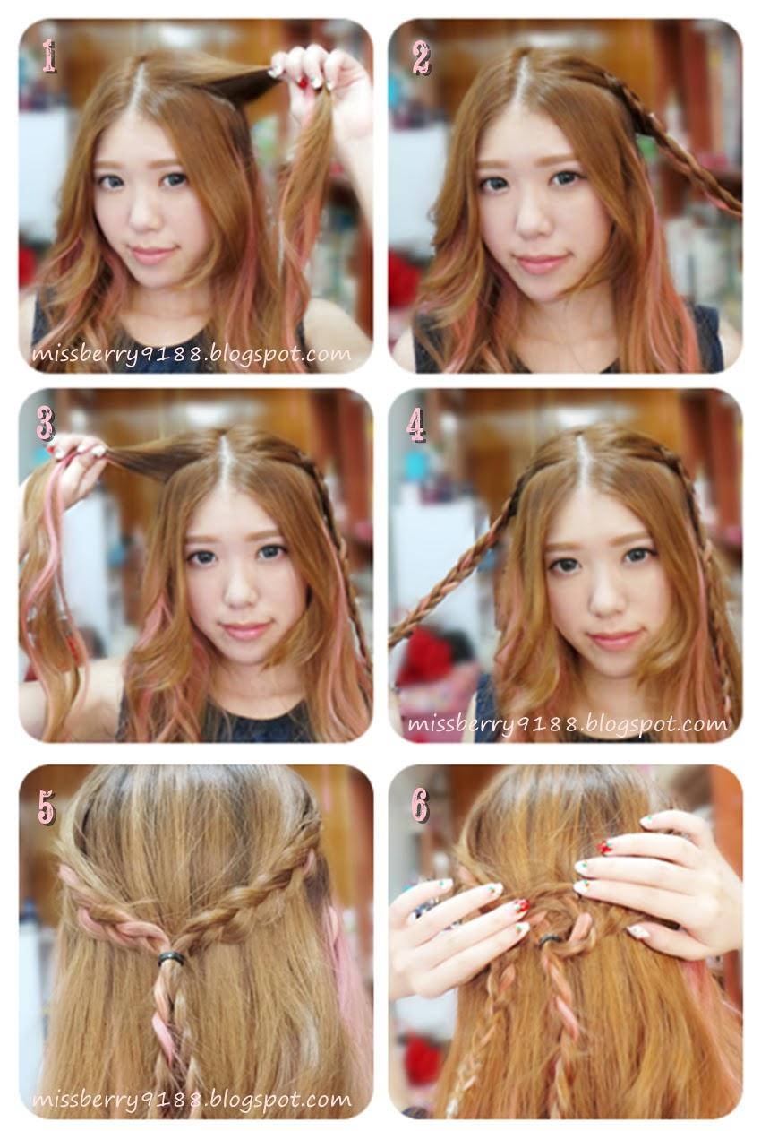 E l l y b e r r y boho rose braid hair tutorial boho rose braid hair tutorial baditri Choice Image