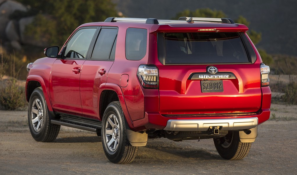 2014 Toyota 4Runner red