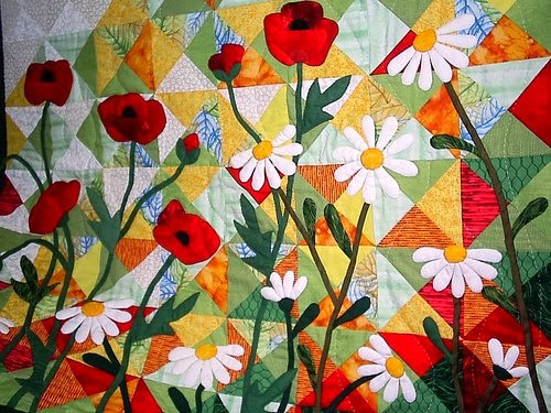 Картина из кусочков ткани своими руками 57