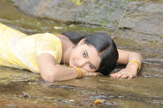 kadhalai kadhalikkiren movie anjali joyi saree glamour  images
