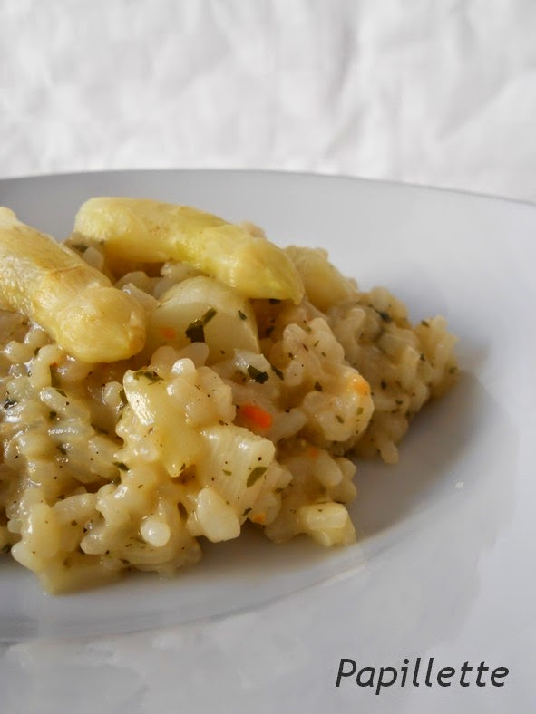 risotto asperges blanches