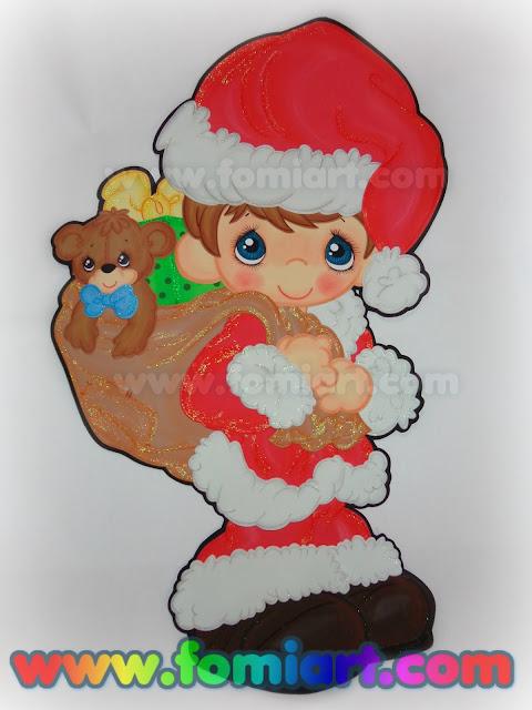 Decoración en foamy para Navidad