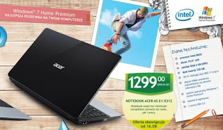 Acer AS E1 531Z ulotka biedronka