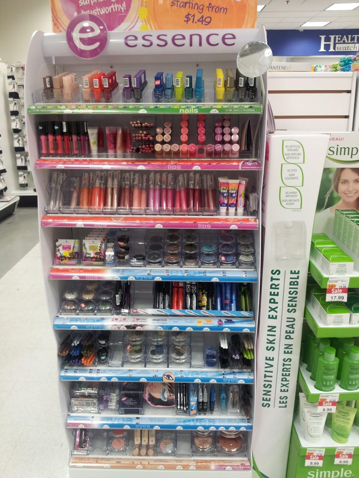 Lifestyle.Beauty.Fashion: New: Essence at Shoppers Drug Mart