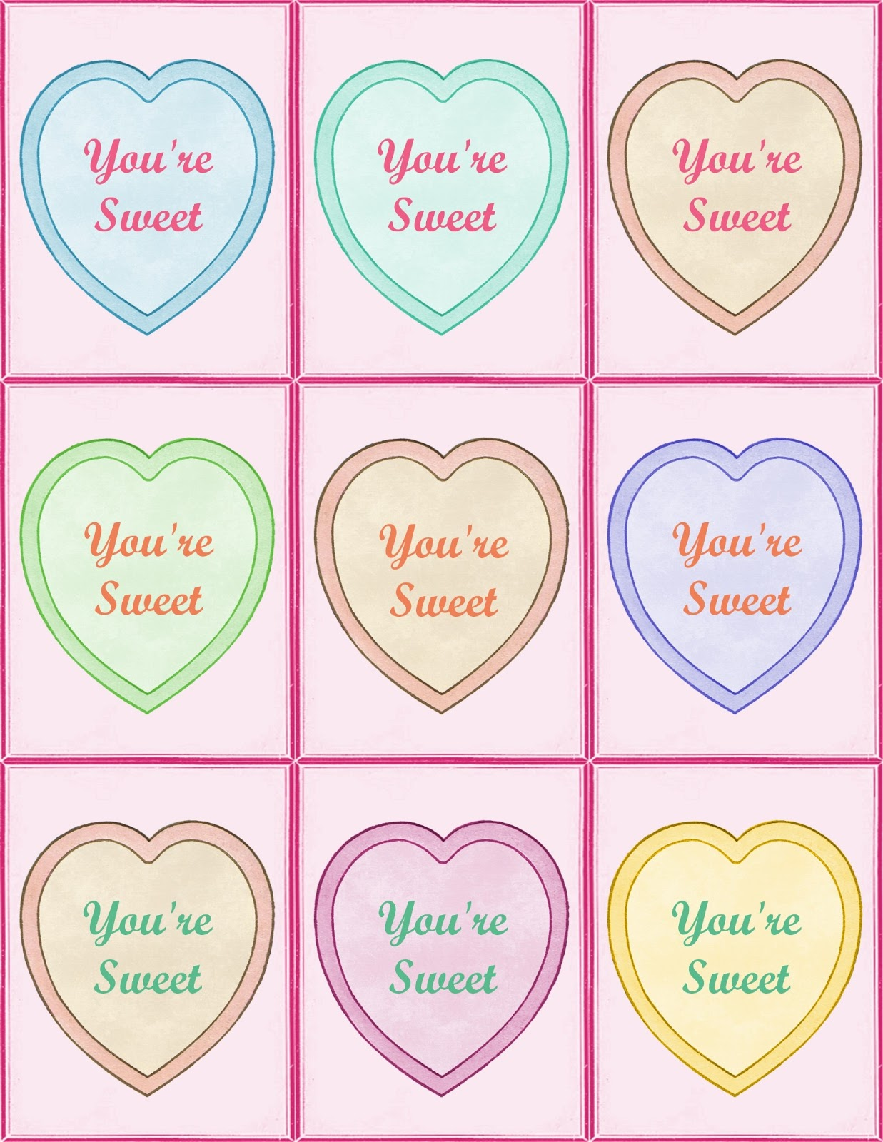 Cute Valentines Day Quotes For Kids Valentine s Day cards for my