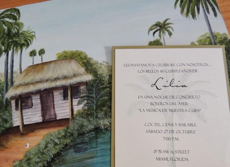 le petit papier designs by monica A Cuban themed birthday