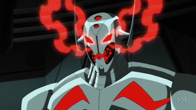 Ultron, steaming mad at dirt.