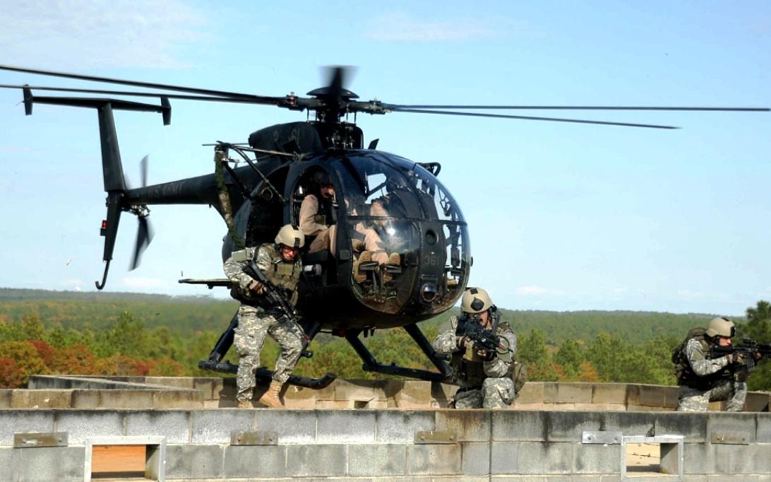 AH-6 Little Bird Helicopter Wallpaper 3