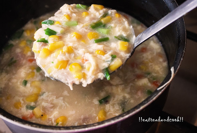 how to cook chinese sweet corn soup recipe