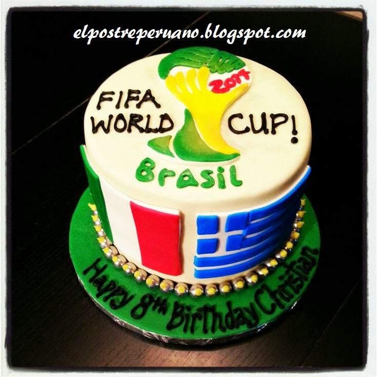 tortas para el mundial