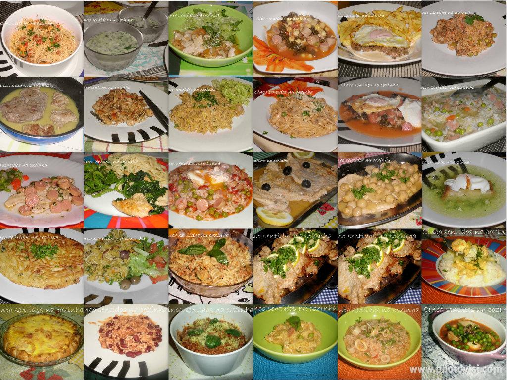 Cinco Sentidos Na Cozinha 30 Receitas Rápidas E Fáceis Para O