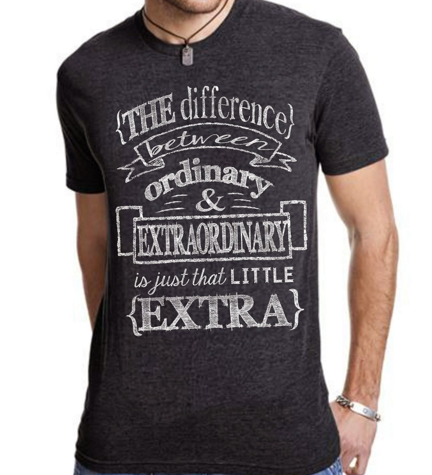 Extraordinary Vintage Navy Triblend T-shirt