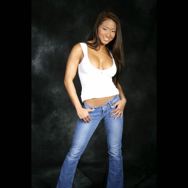 TNA Wrestler Gail Kim Hot Photos Taken in Korea