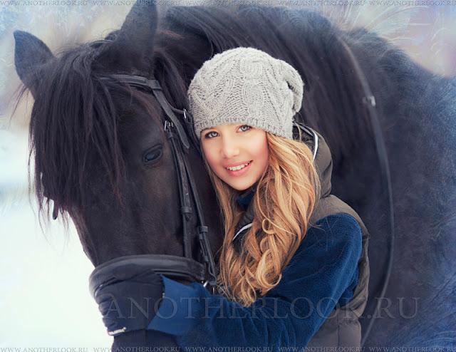 образы для фотосессии с лошадьми