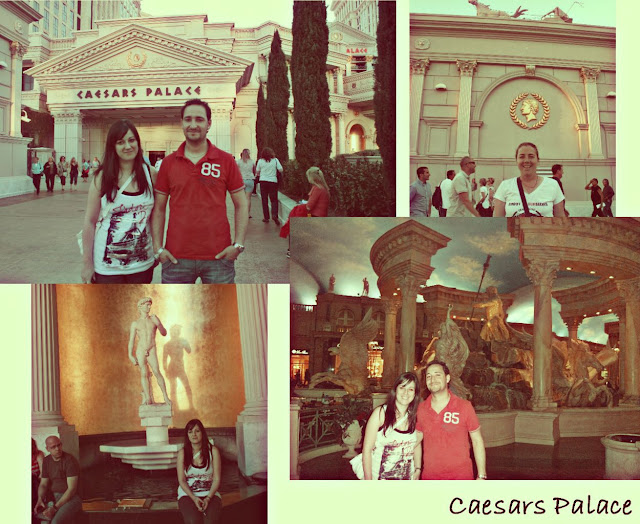 Las Vegas Strip caesar palace