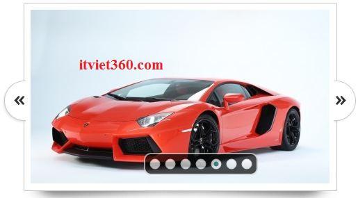 jquery slide show image đẹp cho Website blogger