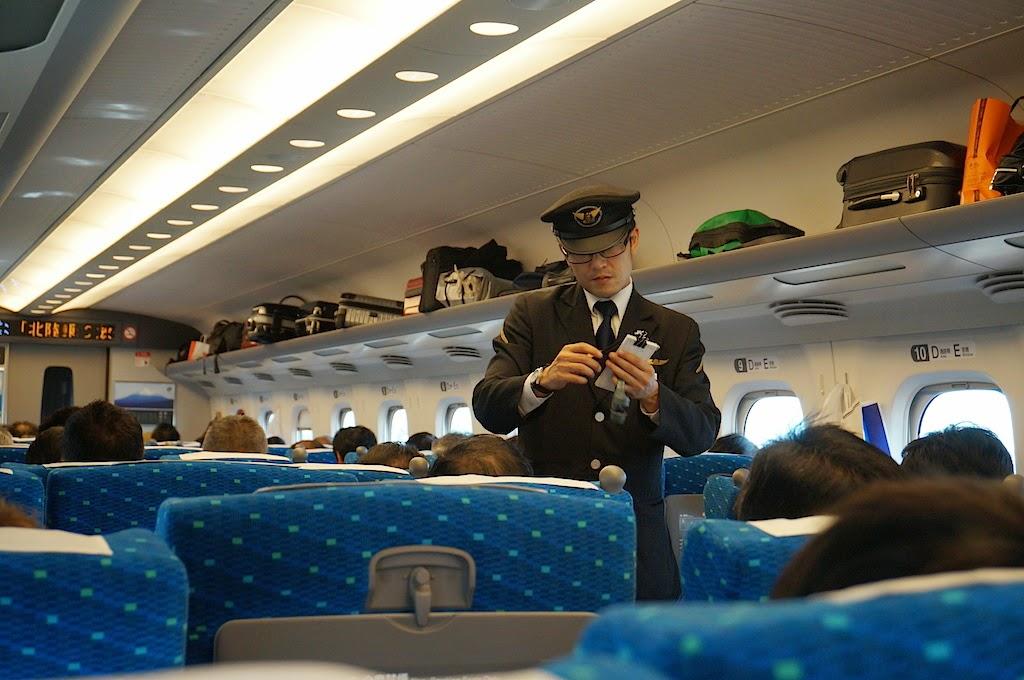 What Inside Shinkansen Japanese Bullet Train