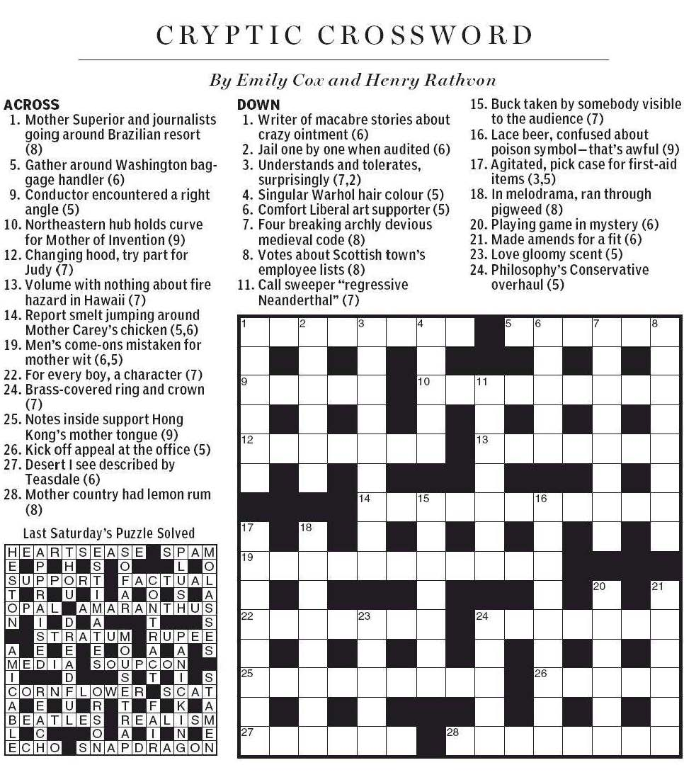 extreme single mindedness crossword clue Crossword answer or solver for go away crossword clue - crossword solver.