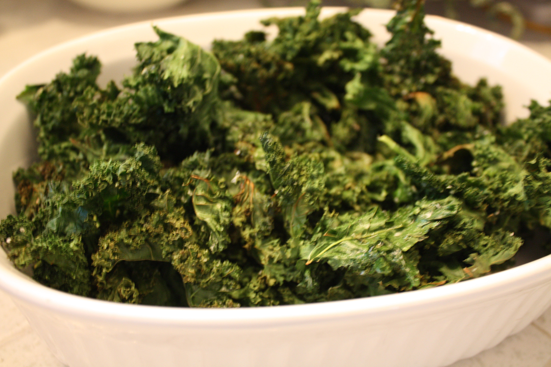 Fit and Fabulous over Fifty: Baked Kale Chips