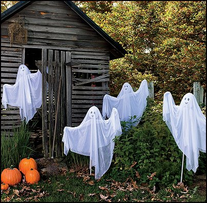 Decorating ideas halloween decor wall murals halloween haunted