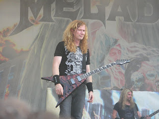 Dave Mustaine - Megadeth vocalist and guitarist