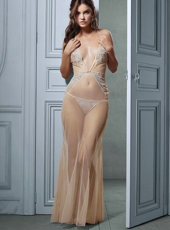 The most beautiful models lingerie for the bride on the wedding night