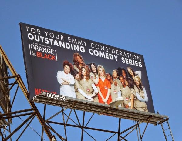 Orange is the New Black Comedy 2014 Emmy billboard