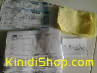 Bukti Pengiriman Paket via JNE dan POS