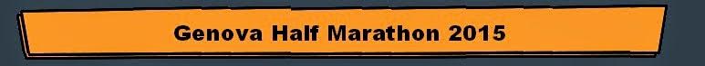 Genova Half Marathon 2015