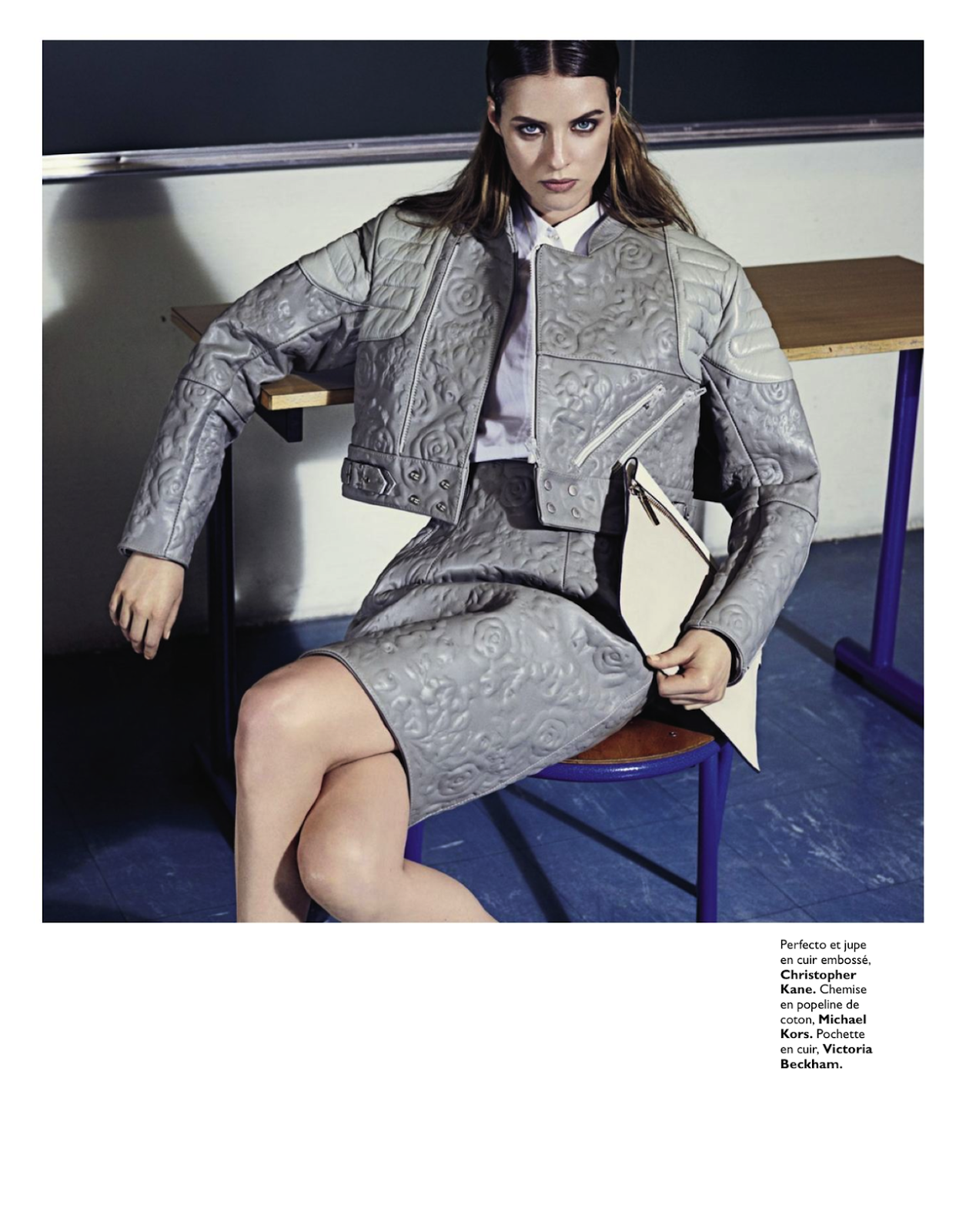 : Julia Frauche By David Roemer For Grazia France 1st March 2013