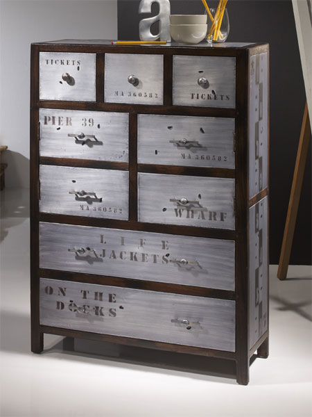 La web de la decoracion y el mueble en la red mueble for Muebles industriales online