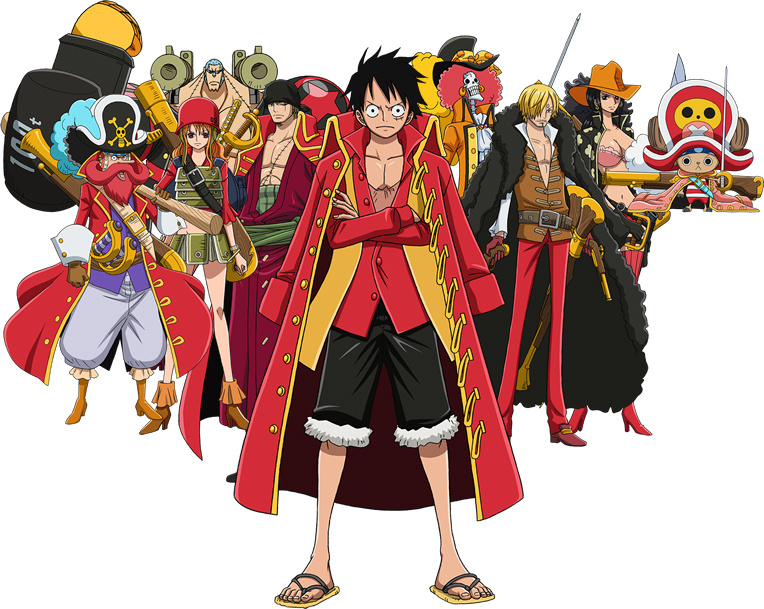 One Piece Film Z: #1 for Four Consecutive Weeks, 62.8 Million USD ...