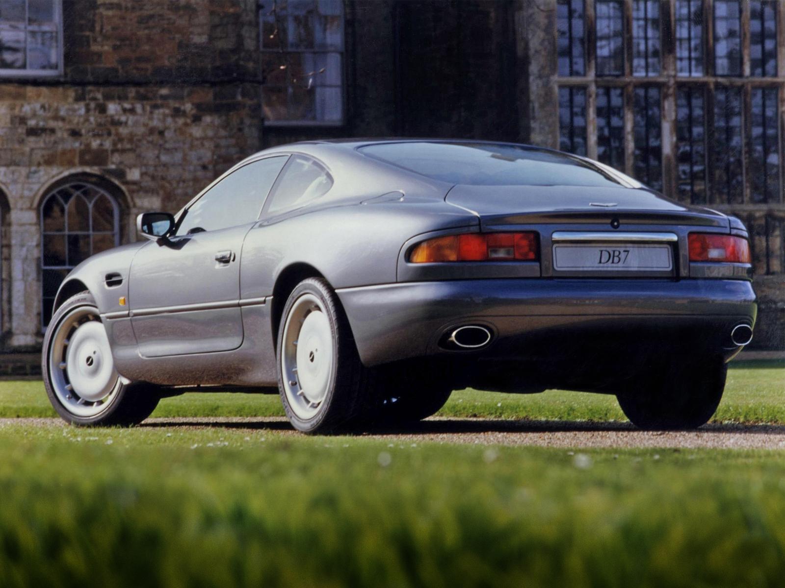 la pasión por el automóvil - passion for cars: aston martin db7 (1994)