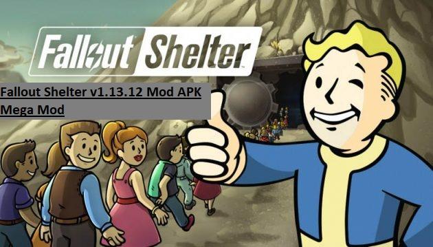 Fallout Shelter v1.13.12 Mod APK Mega Mod