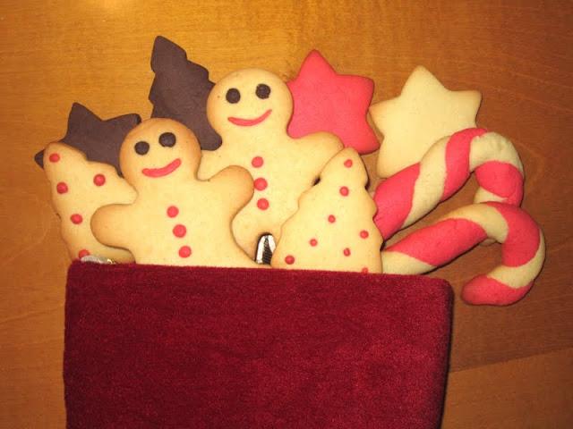 galletas navidad masa coloreada