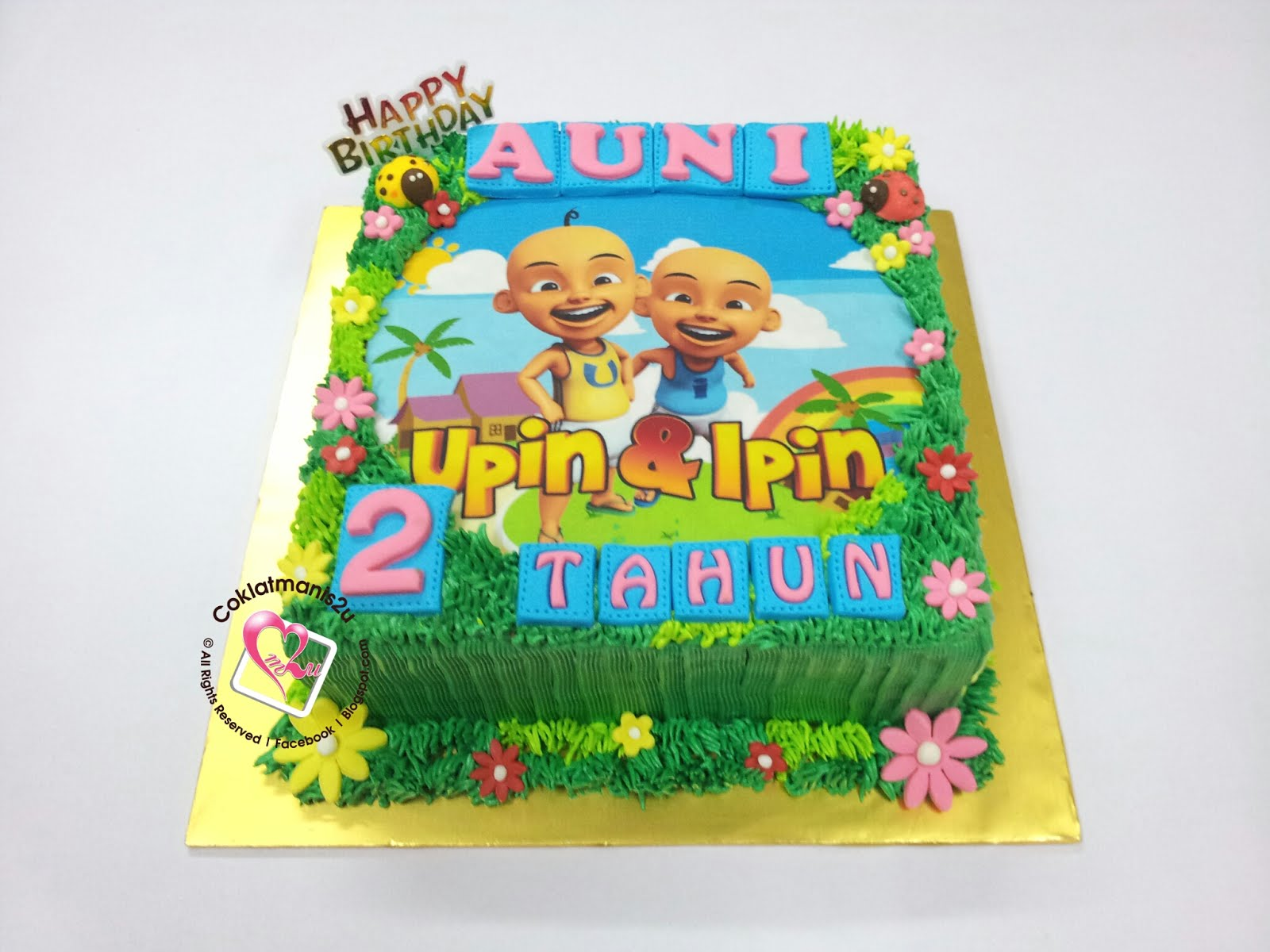 Birthday Cake - Edible Image