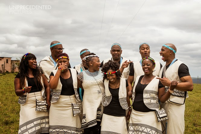 Southern sotho wedding