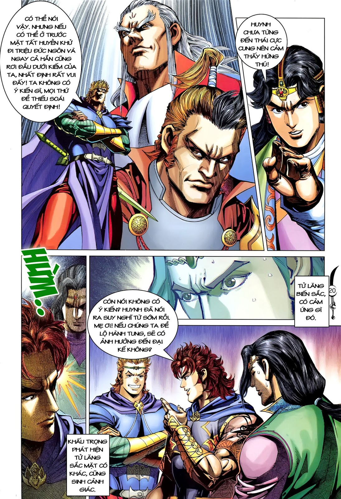 Đại Đường Song Long Truyện chap 216 - Trang 22