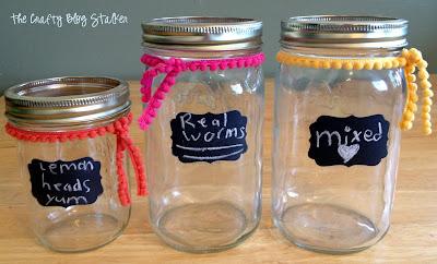 Mason Candy Jar