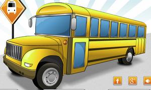 لعبة سيارة المدرسة
