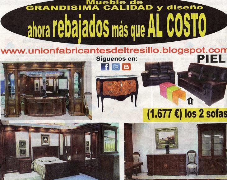 Unión Fabricantes de Tresillos: Muebles de gran calidad \