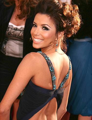 eva longoria wedding hair. Eva Longoria