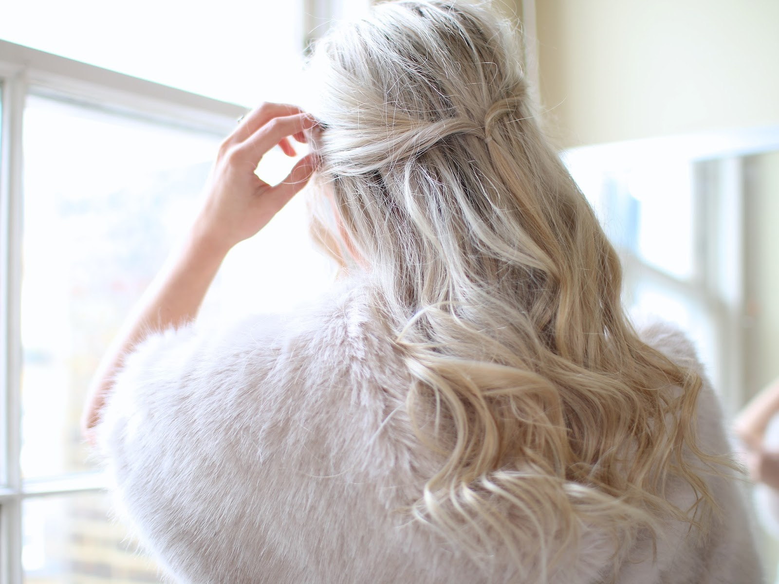 easy boho undo hairstyle