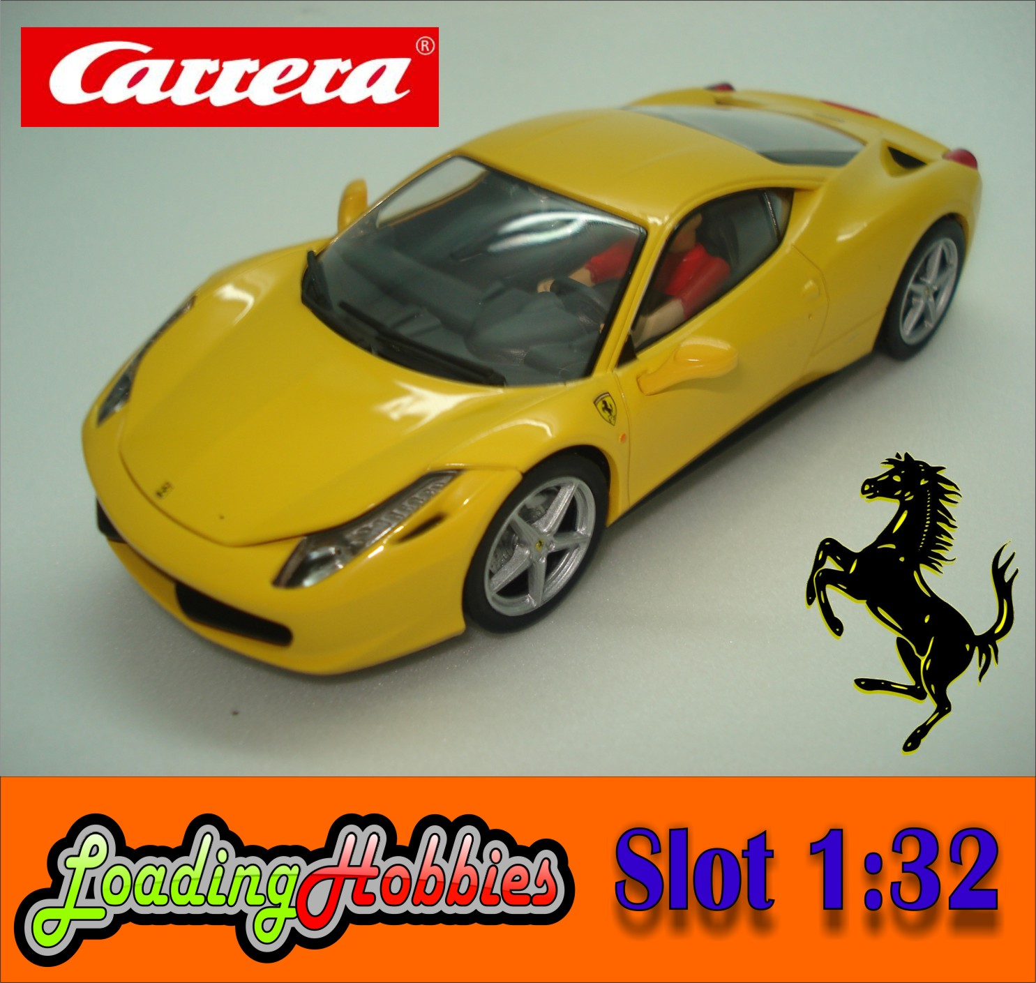 Slot: FERRARI 458 Italia Carrera Slot