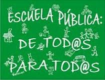 Defiende la escuela pública