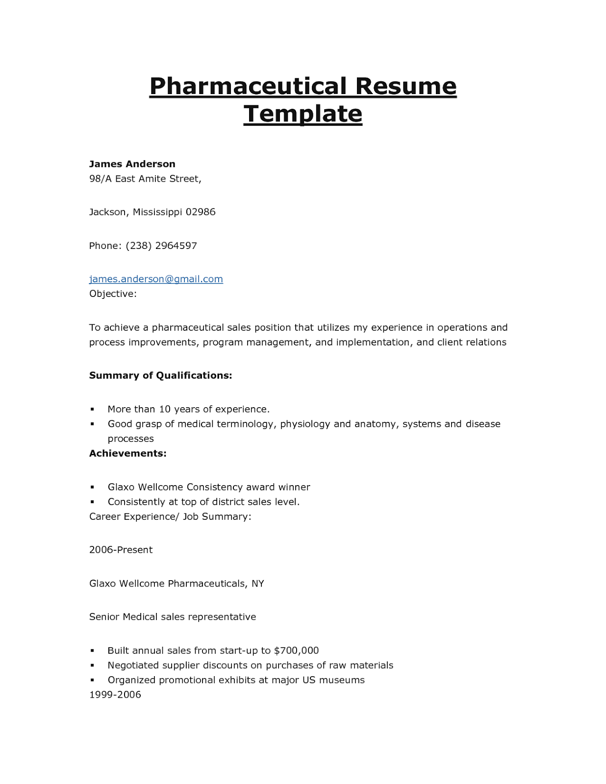 cover letter sales - Cover Letter For Medical Sales Representative