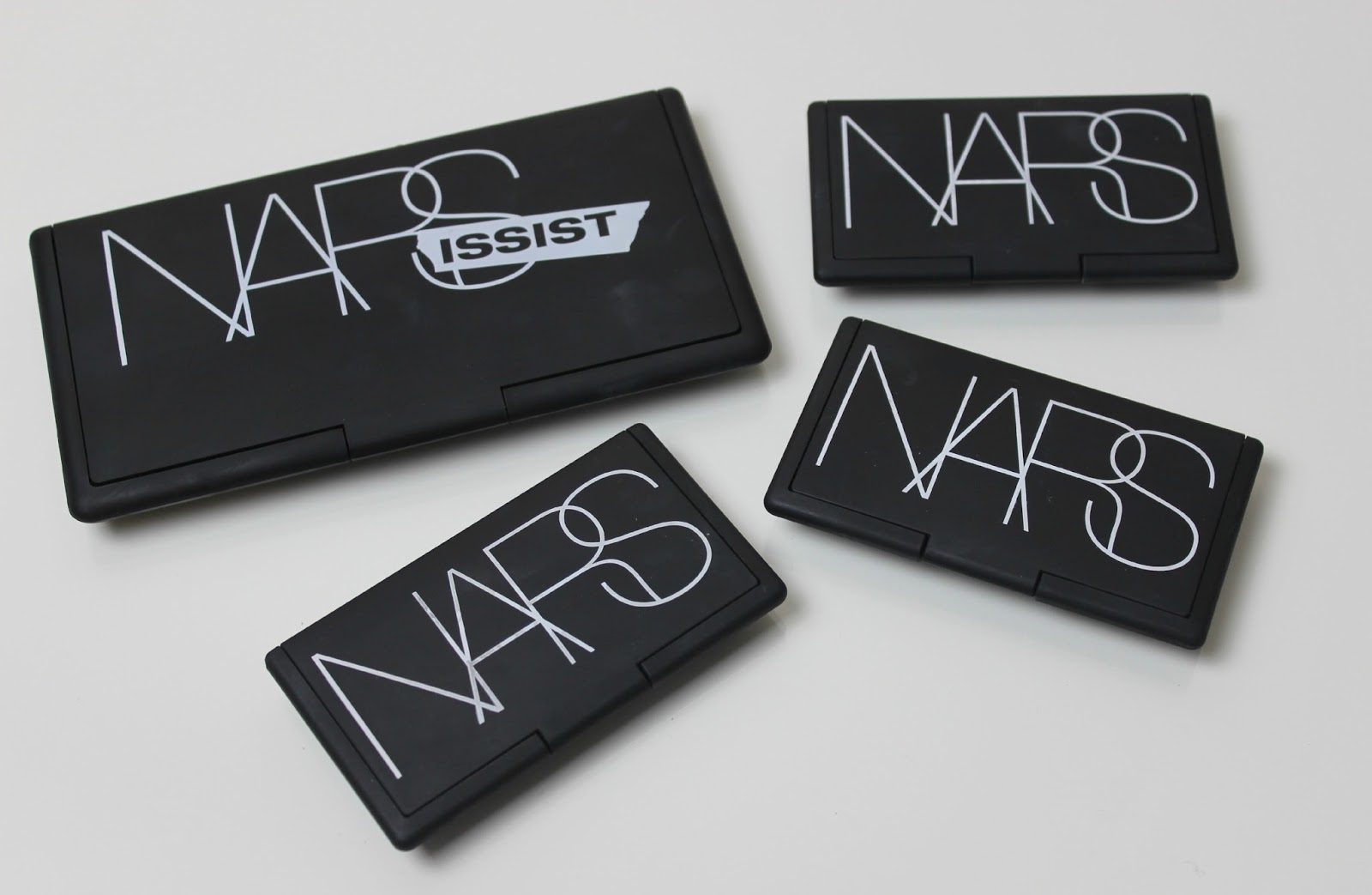 A picture of NARS eyeshadow palettes