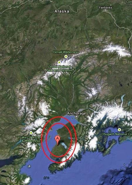 Magnitude 3.0 Earthquake of Cohoe, Alaska 2014-09-25