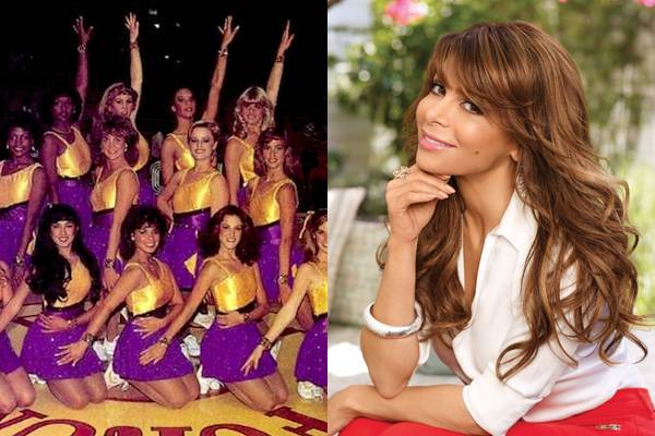 Paula Abdul — Paula Abdul wasn't just a cheerleader in high school. She got her start at a dancer as one of the world famous Laker Girls.