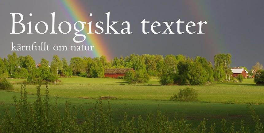 Biologiska texter